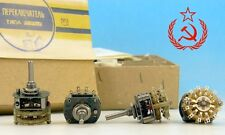 Soviet Russian Military Grade Audio Rotary Switch 4P 5T 4 pole 5 throw positions