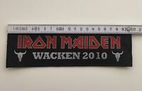 Iron Maiden - Logo Aufnäher / Patch (Superstrip Patch für Kutte / Metal Weste)