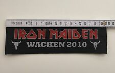 Iron Maiden Patch (Iron Maiden Aufnäher / Iron Maiden Logo Patch / Tour 2010)
