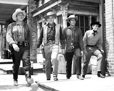 """Bonanza"" Cast Of The Nbc Tv Western Series - 8X10 Publicity Photo (Da-736)"