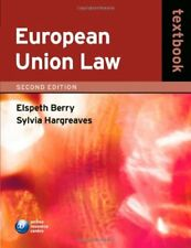 European Union Law,Elspeth Berry, Sylvia Hargreaves