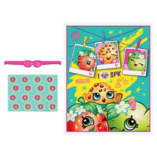Shopkins Girls Birthday Poster 16 Player Party Game Set
