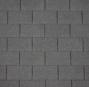 Felt Roofing Shingles / Shed Felt Tiles / Grey/ Shingles / Garage /Garden / 3sqm