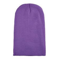 Plain Beanie Hats Winter Cap Slouchy Hat Knit Winter Custom Men Girls 45 COLORS