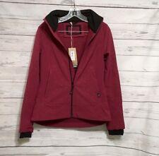 prAna NWT $169 Women's Size XS  Sinta Jacket in Plum Purple Hooded Zip Jacket