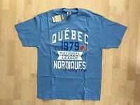 Quebec Nordiques NHL Vintage T-Shirt Size Large Only