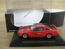 IXO   1/43     Ford Mustang Gt USA 2005    Stallings Police