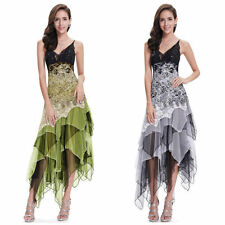 Party/Cocktail Asymmetric Dresses Midi