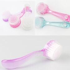 HOT Exfoliating Facial Brush Face Care Cleaning Wash Cap Soft Bristle Brushrub