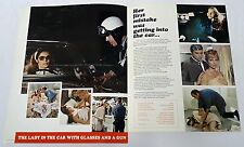 1970 distributors movie promo ~ THE LADY IN THE CAR WITH GLASSES AND A GUN