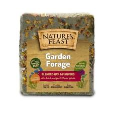 Nature's Feast Garden Forage Timothy Hay 1kg - Blended Hay & Flowers