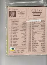 WLS CHICAGO RADIO MUSIC SURVEY 1977 COMPLETE YEAR