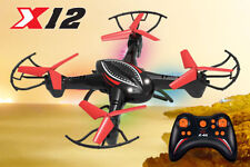 X12 RC DRONE QUADCOPTER 4 CHANNEL STUNT 2.4GHZ SPY 6 AXIS FLYING UFO AIRCRAFT