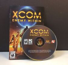 XCOM: Enemy Within (PC, 2013) DISC AND AUTHENTICATION ONLY