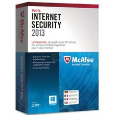 McAfee Internet Security 2013 1 PC / 1 Jahr (auch für 2014 / 2015 / 2016) BOX