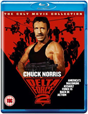 Delta Force 2 (UK IMPORT) Blu-Ray NEW