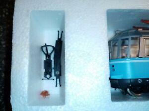 Roco43930 unbespielt, gläserne Triebwagen, Decoder, OVP,, Beipackzettel Kupplung