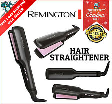 Flat Iron Hair Straightener Remington Pearl Ceramic Salon Wide Beauty 2 in New