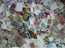 ONE THOUSAND WORLDWIDE STAMPS OFF PAPER, UNSORTED