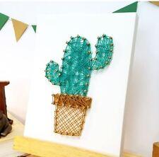 string art kit cactus art home decor craft kits
