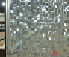 90cm x1m Static Glueless 3D Reusable Removable Frosted Window Glass Film L014
