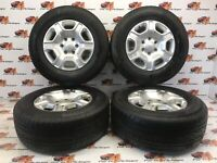 Ford Ranger Alloy wheels with Continental Crosscontact Lx 2 265 65 17 2012-2019