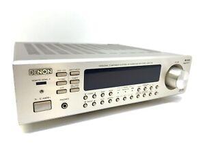 DENON AVR-F100 Audio Vídeo Surround Receiver 40Watts RMS Vintage 2000 GOOD LOOK
