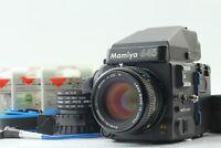 【 Near MINT 】 Mamiya 645 Super AE Finder + Sekor C 80mm f/2.8 N Lens from JAPAN