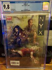NYX #7 CGC 9.8