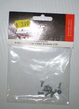 LOSI  LOSA6270 5-40 X3/8 FLAT HEAD SCREWS NEW  NIP (10PCS)
