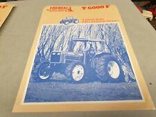 1980s ? ISEKI T6000F Tractor  Sales Leaflet