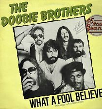 """Maxi 12"""" 30cms: the Doobie Brothers: what a fool believes. WB. 2"""