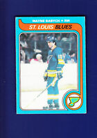Wayne Babych RC 1979-80 O-PEE-CHEE OPC Hockey #142 (VGEX) St. Louis Blues