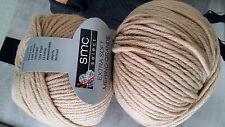 600 g EXTRA SOFT MERINO GRANDE Gedifra WOLLE Schachenmayr Natur Camel Sand 05504