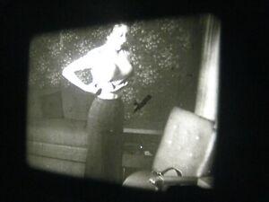 1950s Vintage 16mm film ..Art model , Peppy Housewife