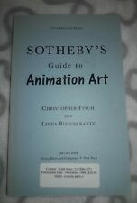 Sotheby's Guide to Animation Art  Uncorrected Proof