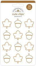 Doodlebug Design Inc. Cute Clips Leaves & Acorns