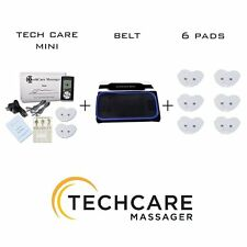 Mini Tens Massager Unit Set + 6 Extra Pads + Belt Pain Sciatica Relief Therapy