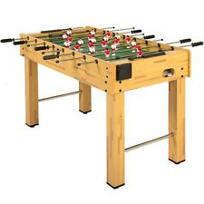 """48"""" Foosball Table Competition Size Soccer Arcade Game Room Sports Entertainment"""