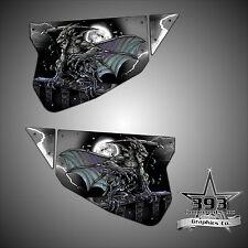 Polaris RZR 1000 XP TMW Sidewinder Venom Door Wrap Graphics Guardian Black