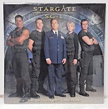 "2007 Stargate SG-1 Calendar - 12"" x 12"" - SEALED"