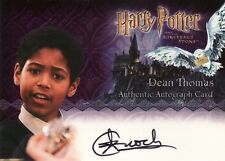 Harry Potter Sorcerers Sorcerer's Stone Alfred Enoch / Dean Thomas Auto