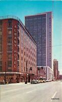 1950s Denver Colorado Seventeenth Street Financial District Chrome postcard 8588