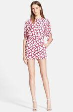 ea7f2f43d394 Diane von Furstenberg Romper 100% Silk Jumpsuits   Rompers for Women ...