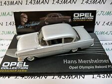 OPE123 1/43 IXO designer serie OPEL collection : Olympia REKORD P1 H.Mersheimer