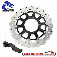 For Honda CR125 CR250 CRF250 CRF450 R X Supermoto 320mm Brake Disc Rotor+Bracket