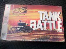 TANK BATTLE-- VINTAGE BOARD GAME