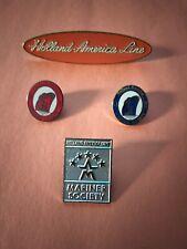 Holland America Pins Mariner Society 25 Days 50 Days 5 Star +Holland America