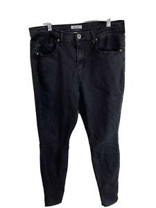 "Mudd Womens Size 15 Black Skinny Pants / Jeans - Waist=32"" Ins=31"""