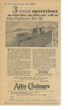 Allis Chalmers Agriculture Advertising